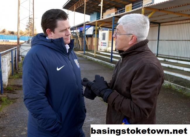 Kevin White Ketua Permanen Baru Basingstoke Town FC