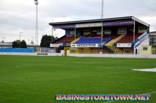 Basingstoke Town FC akan Bermain di tempat lain di Hampshire